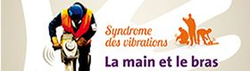 Syndrome des vibrations. La main et le bras en danger