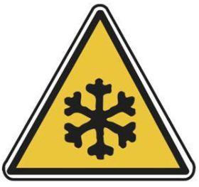 Pictogramme d'avertissement pour les basses températures