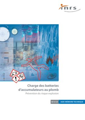 charge des batteries d 39 accumulateurs au plomb brochure inrs. Black Bedroom Furniture Sets. Home Design Ideas
