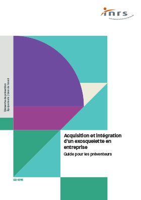 Acquisition et intégration d'un exosquelette en entreprise