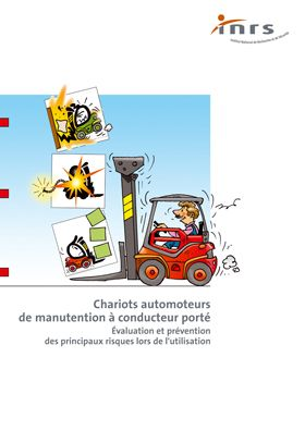 Chariots automoteurs de manutention à conducteur porté