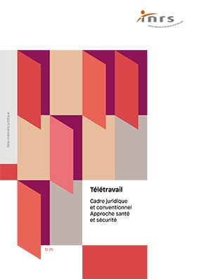 Vignette document Télétravail, cadre juridique et conventionnel. Approche santé et sécurité