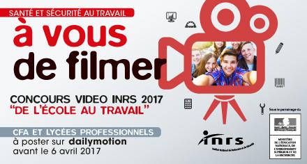 Affiche du concours vidéo 2017