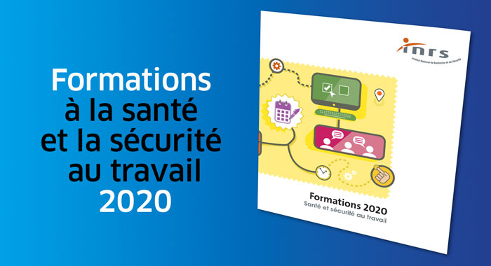 Le catalogue formations 2020 - INRS