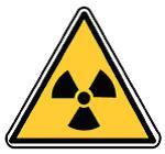 Pictogramme d'avertissement de présence de matières radioactives ou de radiations ionisantes