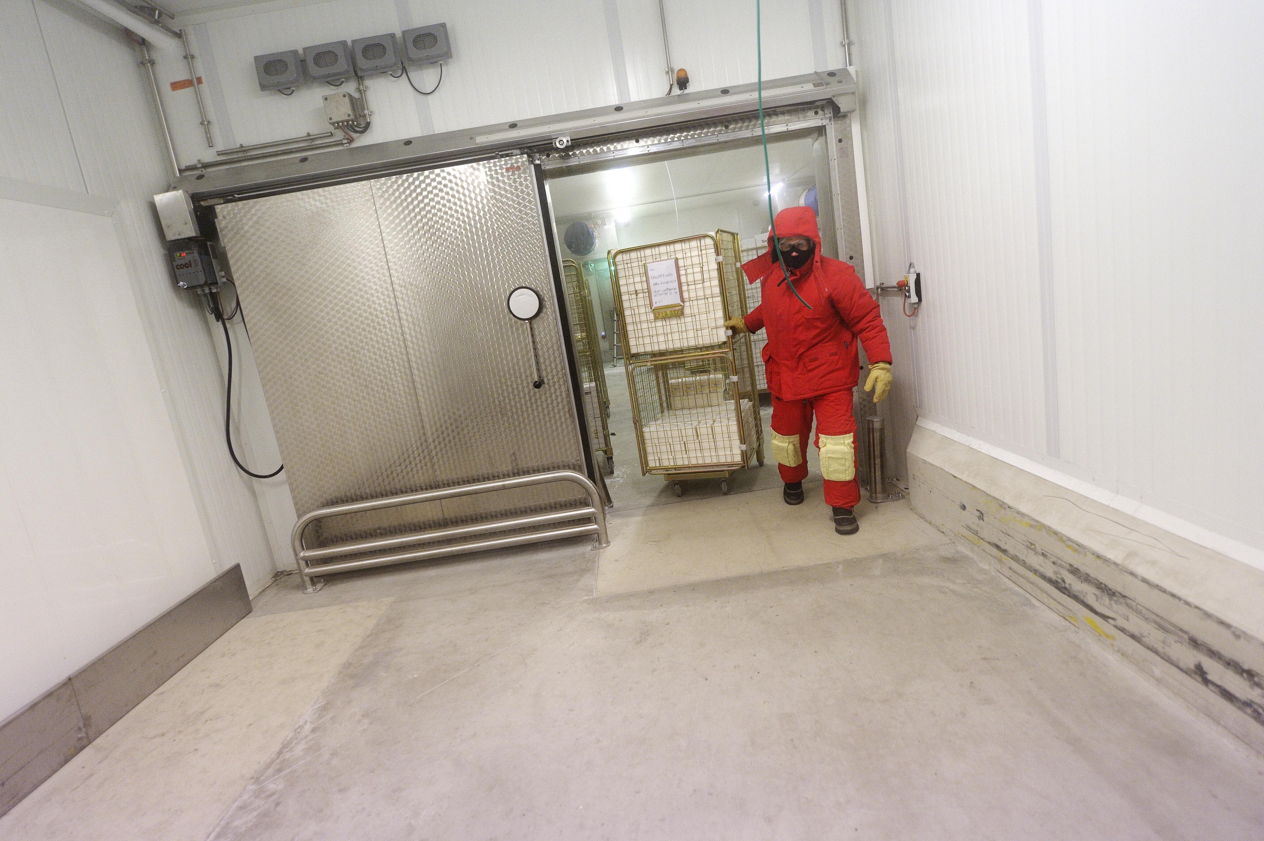Travail au froid pr venir les risques risques inrs for Bilan thermique chambre froide gratuit
