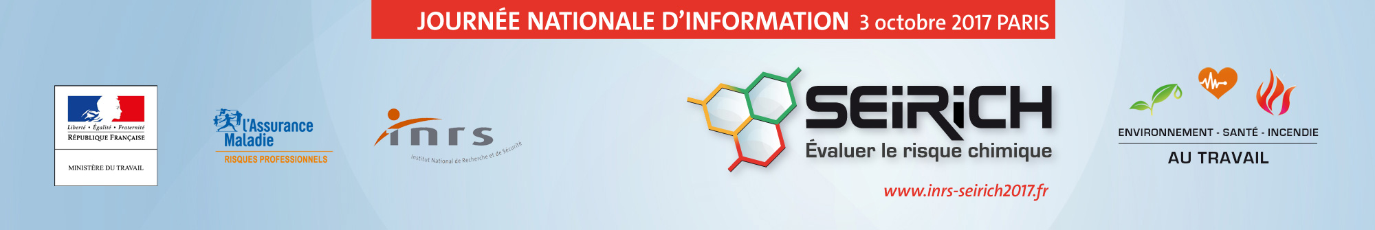 Bandeau de la journée nationale d'information Seirich